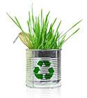 Mülleimer für eine bessere Umwelt